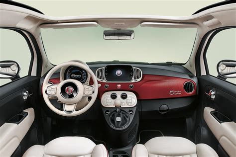 Fiat Interior by Limited Edition Fiat 500 60th Launched To Celebrate 60th