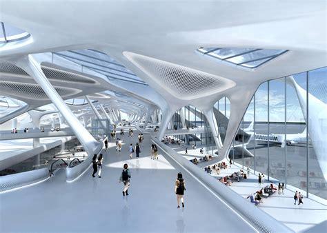 Zagreb Airport  Zaha Hadid Architects Arch2ocom