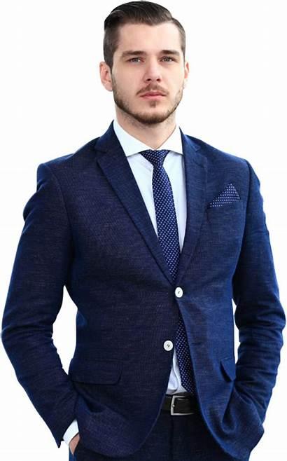 Handsome Businessman Portrait Business Successful Concept