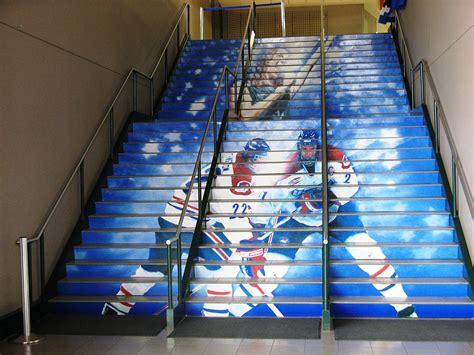 stair riser decals stair decals college university
