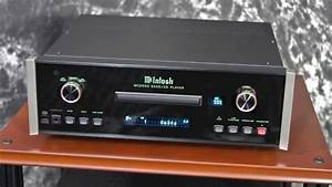 Stereo Design McIntosh MCD550 SACD/CD Player in HD - YouTube