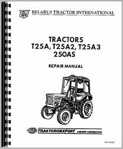 Belarus 250 Tractor Service Manual