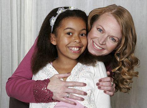 feel proud  cal  daughter mixed race