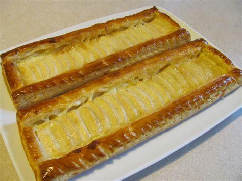 tarte pate feuillete creme patissiere feuillet 233 poire