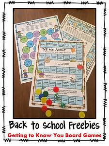 Fun Games 4 Learning: Back to School Board Game Freebies