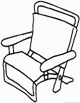 Chair sketch template