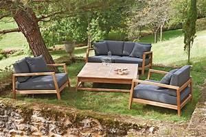 Salon De Jardin En Teck Pas Cher : salon bas de jardin en bois table de jardin chaise pas ~ Dailycaller-alerts.com Idées de Décoration