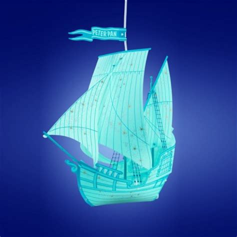 pan blue ship l shade