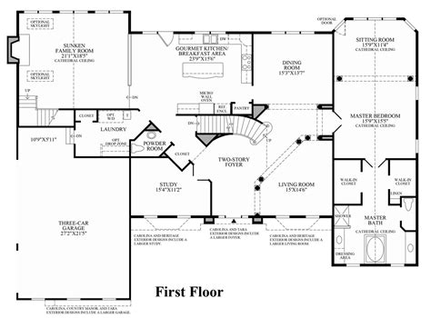 center colonial house plans center hall colonial house plans