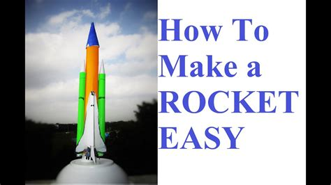 How To Make A Rocket  How To Make A Paper Rocket Youtube