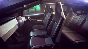 Tesla Cybertruck Interior Pics - Foto Truck and Descripstions