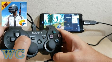 pubg mobile with ps3 controller android gameplay
