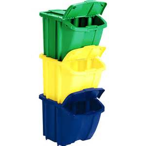 Stackable Recycle Bins
