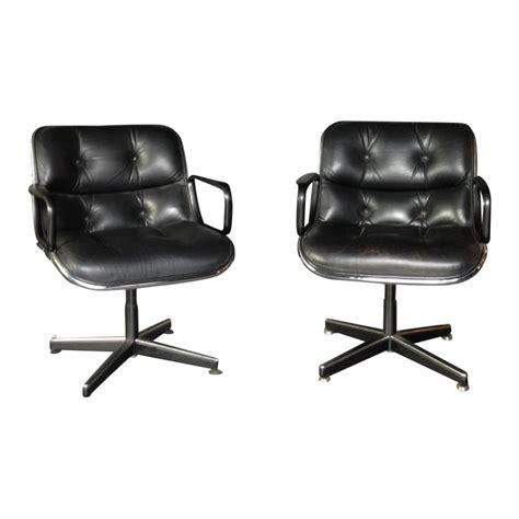 fauteuil de bureau vintage fauteuil de bureau vintage charles eames style vintage brown back ribbed office chair