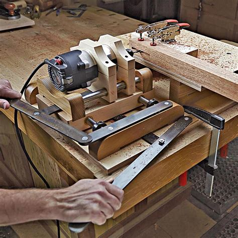 shop  horizontal mortiser woodworking plan  wood