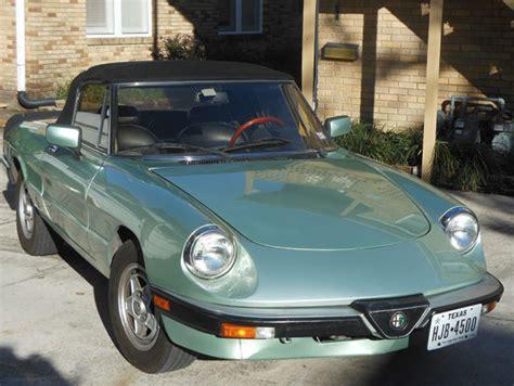 1985 Alfa Romeo Spider by 1985 Alfa Romeo Spider Veloce Convertible 2 Door 2 0l For