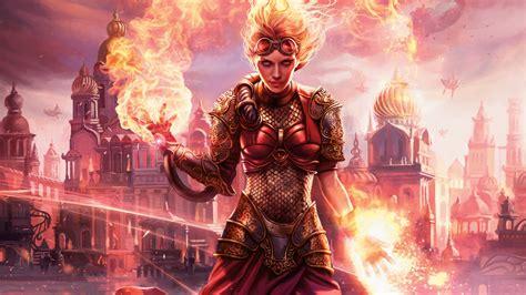 chandra torch  defiance magic  gathering