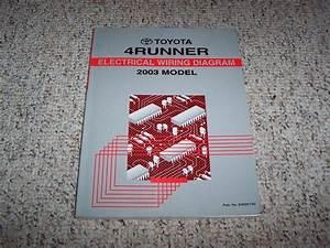 2003 Toyota 4runner Electrical Wiring Diagram Manual