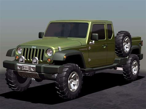 new jeep concept truck 2005 jeep gladiator concept pictures review