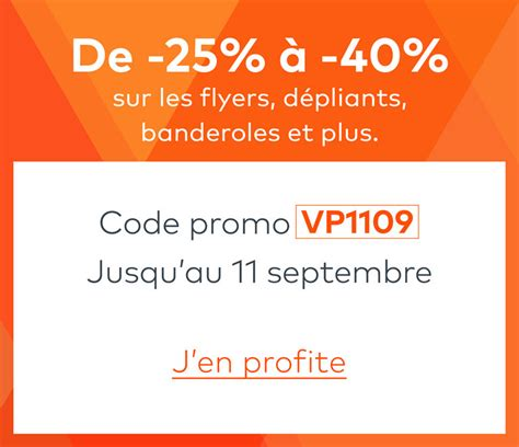 code promo vistaprint frais de port vistaprint fr cartes de visite flyers banderoles et bien plus
