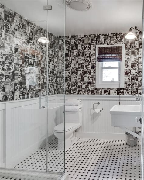 black  white bathroom designs decorating ideas