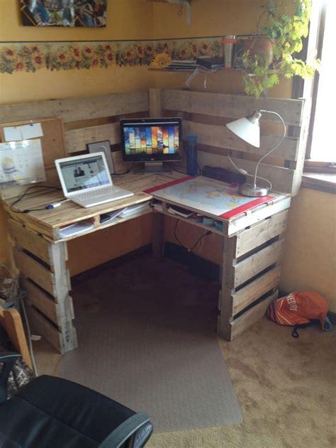 great diy pallet farm table desk savoy decor ideas