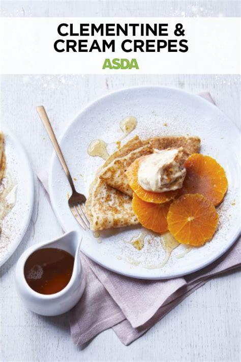clementine  cream crepes recipe easy desserts
