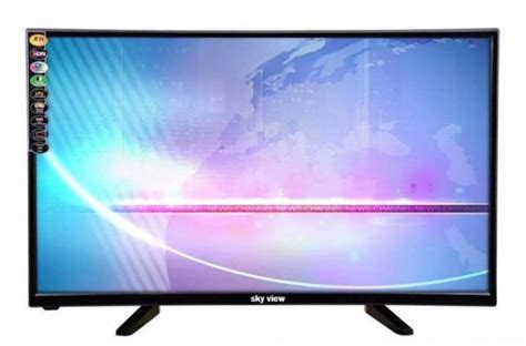 sky view   hdmi usb  ultra hd led television