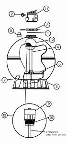 American Products  Eclipse Sand Filter Parts Diagram