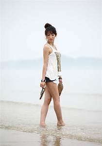 Randomdragon  Shin Sun Ah  Beauty At The Beach