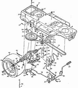 Craftsman Lt1000 Riding Mower Parts Diagram