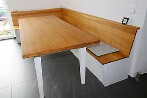 Eckbank Mit Tisch Und Stühle Günstig : eckbank und tisch mit schubladen eiche massiv korpus ~ Watch28wear.com Haus und Dekorationen