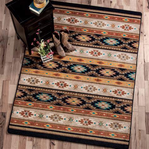 southwest rugs    sedona ruglone star western decor