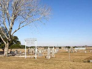 Lavaca County Charlottenburg Cemetery, Texas.