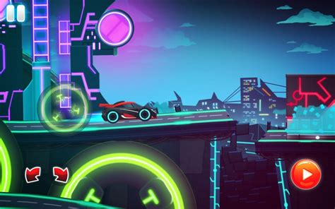 car games neon rider drives sport cars  android apk