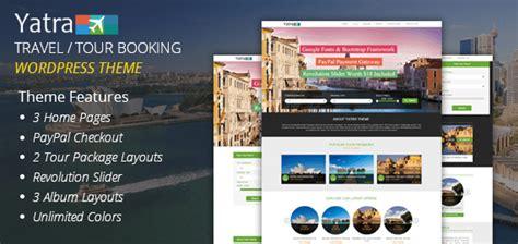 Travel And Tour Booking Wordpress Theme