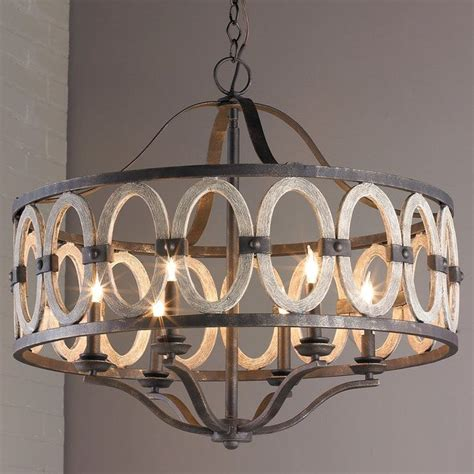 driftwood entwined ovals chandelier   home driftwood chandelier rustic chandelier