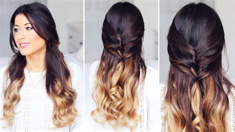 Basic Hairstyles For Cute Half Up Half Down Hairstyles