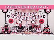 Parisian Birthday Party Ideas Parisian B105 YouTube