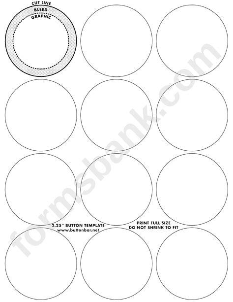 small button templates printable