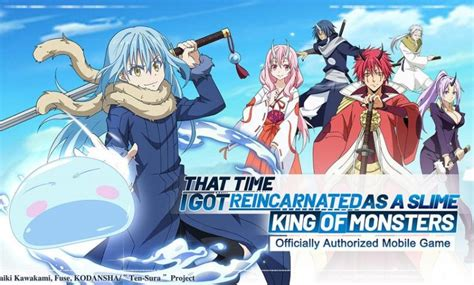 Popular anime characters come to the screen! Tensura:King of Monsters MOD Apk (Unlimited Resources ...