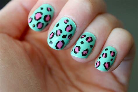 animal nail designs animal print nails