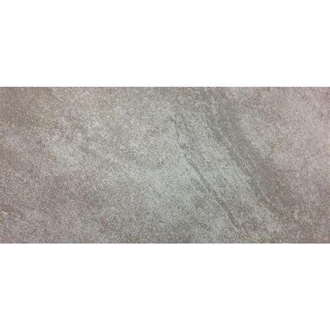 trafficmaster portland gray 12 in x 24 in glazed