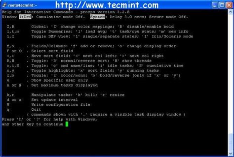 Linux Resume Process Command Line by 12 Top Command Exles In Linux