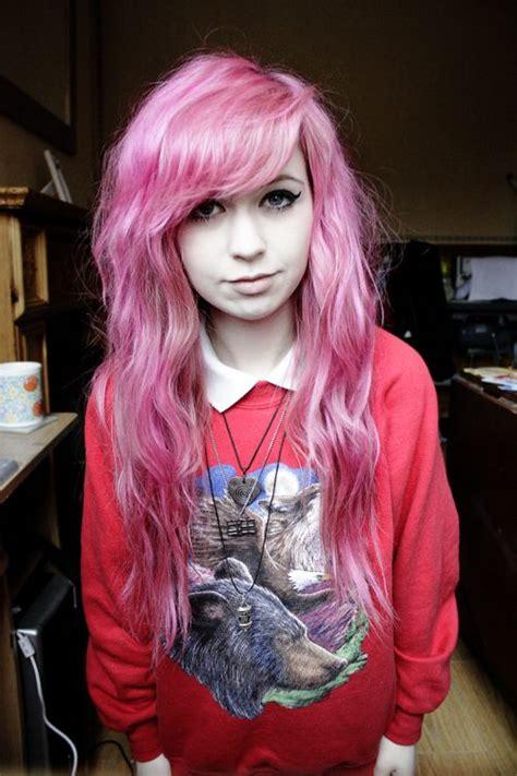 Looooving The Pastel Pink On Wavycurly Hair I Met This
