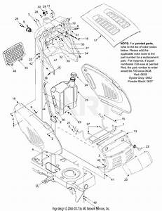 Troy Bilt 13at609g766 Super Bronco  2004  Parts Diagram