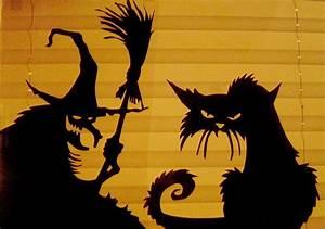 halloween silhouettes for windows google search With halloween window silhouettes template