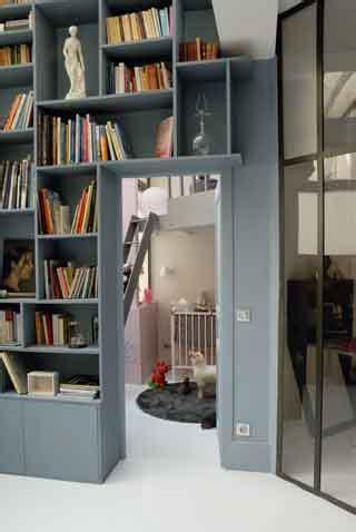 chambre a gaz vrai ou faux 5 bibliothèque mezzanine la déco s élance sur toute