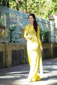 Miss Vietnam In Vo Viet Chung U2019s Ao Dai