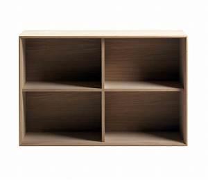 Bibliotheque Bois Clair : biblioth que modulable en bois brin d 39 ouest ~ Teatrodelosmanantiales.com Idées de Décoration